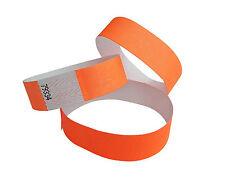 Wristbands 100 Tyvek-Kontrollbänder grün//green//vert Bracelets événementiels