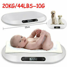 Baby Scales Electronic Digital Infant Pet Cat Weighin Bathroom Scale 20kg Weight