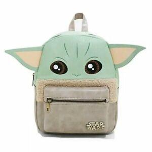 Star Wars Baby Yoda Mini Backpack Grogu Mandalorian The Child Bag By Bioworld