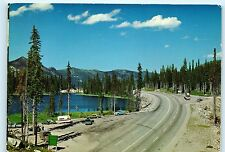 The Kootenay Skyway British Columbia Highway 3 Salmo Creston 4x6 Postcard A43