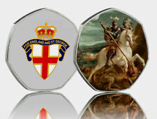 ST GEORGE & THE DRAGON Full Colour Silver Commemorative Albums/Filler/Collectors