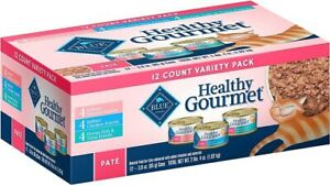 Blue Buffalo Healthy Gourmet Variety Pack Indoor Salmon, Chicken and Ocean Fish