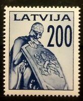 Latvia 1991  Memoreal MNH Not used ref LV-07