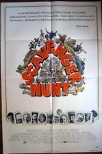 1979 SCAVENGER HUNT ~ 200 MILLION DOLLARS~WINNER TAKES ALL~ MOVIE POSTER 1 SH OR