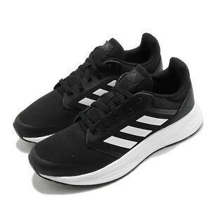 adidas Galaxy 5 Black White Women Running Casual Shoes Sneakers Trainers FW6125