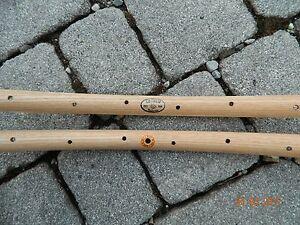 CB ITALIA coppia (#2) cerchi in legno tipo ROUBAIX per tubolari - Holzfelgen