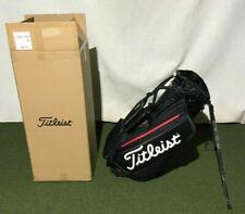 Titleist Premium StaDry Waterproof Stand Bag in Black/Black/Red Brand New Boxed