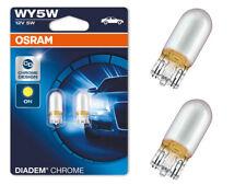 OSRAM W5WL WY5W Blinker Seitenblinker Diadem Chrom Optik Gelb E-Prüfzeichen 32