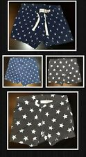 H&M Toddler Baby Shorts Blue White Black Gray Anchors Stars 6-12 months