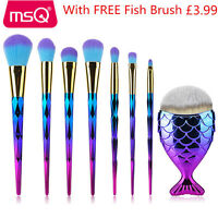 7/20PCs Powder Eyeshadow Makeup Brushes Sets Foundation Blush Make Up Brush Kits