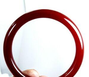 "VINTAGE CARNELIAN Stone  Bangle Bracelet 8"" Circumference"