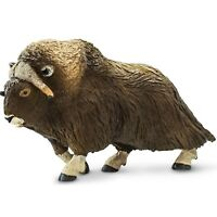 Muskox Figure Safari Ltd NEW Toys Educational Collectibles Kids Adults Animals