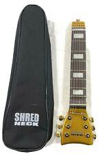 Shredneck Diamond Steel String Practice Guitar w/Bag 7 Frets - Practice Guitar