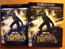 BLACK PANTHER (4K UHD Blu-ray) + SLIPCOVER. Marvel