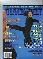 Black Belt Magazine  1996 September  Karen Sheperd