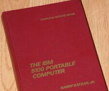 1977 IBM 5100 Portable Computer Operation & Programming 570 pgs APL Tape Drive