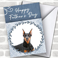 Doberman Pinscher Dog Traditional Animal Personalized Father's Day Card
