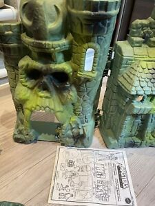 Les Maîtres de l'Univers MOTU Château Castle Grayskull 1981 Musclor Mattel