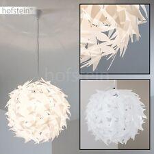 Lampe à suspension Lampe pendante Lustre blanc Plafonnier Lampe de séjour 155371