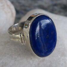 Natürliche Echtschmuck-Ringe mit Lapis Lazuli und Cabochon