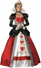 Morris Costumes Women's Queen Of Hearts Full Length Gown Costume. IC1037LG