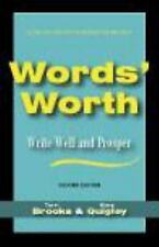Words' Worth: Write Well and Prosper, Mary Quigley, Terri Brooks, Good Book