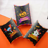 Halloween Paper Pillow Boxes Candy Sweets Cookies Biscuits Party Favour Gift Bag