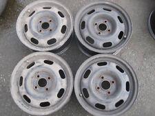 Satz Stahlfelgen VW Polo 6N/6NF,Lupo,Golf IV Cabrio 6Jx14 H2 ET43 Lk.4x100