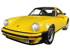 1974 PORSCHE 911 TURBO 3.0 YELLOW 1/24 DIECAST MODEL CAR BY WELLY 24043