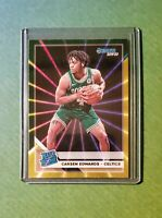 2019-20 Donruss Basketball Green/Yellow Laser Rated Rookie RC CARSEN EDWARDS