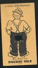 1930S ADVERTISING CARD, NOURSE OIL CO. KANSAS CITY, MO.