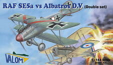 Valom 1/144 Model Kit 14418 RAF SE.5a vs. Albatros D.V (Double set 4 kits)