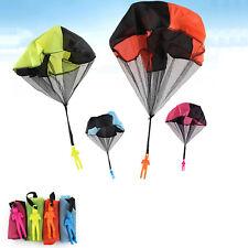 Popular Children Outdoor Sports Mini Hand Throw Soldier Parachute Toy kids Gift