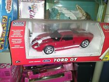 Vintage RC 1/14 NIKKO Ford GT Rare R/C CAR - Ready To run red in the box