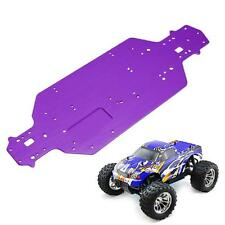 1PC Purple Chassis Metal Upgrade Parts For HSP 1/10 RC Off Road Car 94123 94103