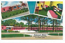 PERRYVILLE, MARYLAND U. S. Route #40 Oakcrest Motel Multi-view postcard