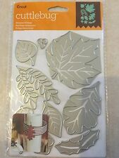 Cricut Cuttlebug Cut & Emboss Die Set - Seasonal Foliage 2003467 NEW