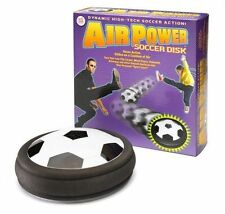 Funtime Gifts Air Power Soccer Disk Hover Action Glides on a cushion of Air