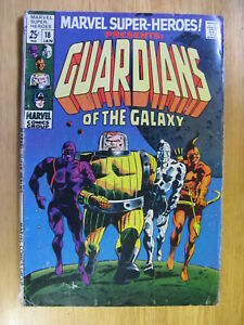 MARVEL SUPER HEROES #18, 1ST APP OF THE GUARDIANS OF THE GALAXY - 1969.