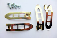 Spring Clip - Ladder type for holding canvas in a frame - Pack of 10 with screws