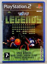 TAITO LEGENDS - PLAYSTATION 2 - PAL ESPAÑA - COMPLETO