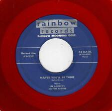 PHILLY DOOWOP-LEE ANDREWS/HEARTS-RAINBOW 252-MAYBE YOU'LL BE THERE/BABY COME BAC