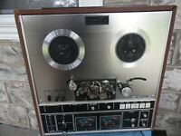 VTG Akai GX-285D Glass & X'TAL Ferrite Head Reel - Reel Tape Player Recorder