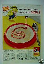 1956 Dennis the Menace Animation Cartoon Comic Cream of Wheat Cereal Ketcham AD