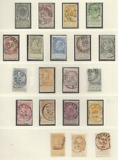 Belgium collection of 20 CLASSIC stamps  HIGH VALUE!