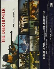 THE DEER HUNTER Movie Poster 1978 Robert DeNiro RARE