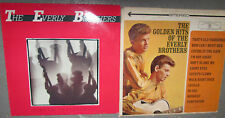 Two Everly Brothers Phil Don Everly Vinyl 33RPM LP Record Rock Oldies !