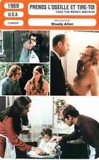 FICHE CINEMA : PRENDS L'OSEILLE ET TIRE TOI - Allen,Margolin 1969 Take The Mone