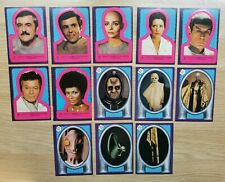 15 x Topps STAR TREK Trading Card Sticker 1979 inc. MISPRINT ERROR CARDS