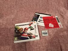 Mario Kart 7 Nintendo 3DS Game Complete With Manual & Unused Vip Points VGC